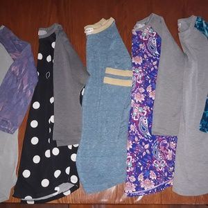 Lularoe lot Randy Gigi Cassie Perfect Leggings +